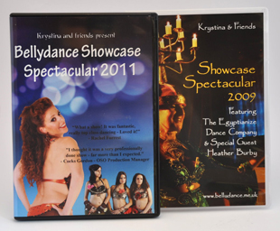 Bellydance Showcase Spectacular 2011 and 2009