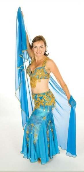 Kasia was first introduced into the world of Egyptian Dance in 2007 through attending performances such as Galit Mersand's show 'Bellylicious' and Ann White's 'Planet Egypt' along with her friend and fellow Egyptianize member Natalie.  After starting her own study of the dance with Krystina in April 2008 Kasia soon discovered that bellydance was not only a great work-out for the mind and body but also a fun way to make new friends and socialise. Since then she has attended workshops with other respected teachers such as Heather Burby and has also performed at many private functions before becoming a member of The Egyptianize in January 2009. Growing up, Kasia had a dream to be a ballet dancer, but it wasn't meant to be, so she took up the cello instead and has performed all over the world as a professional musician. Today her youthful desires for ballet has finally been satiated with her inspiration and new found love of oriental dance.